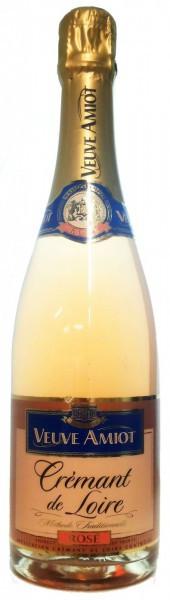Игристое вино Veuve Amiot, Cremant de Loire AOC Rose