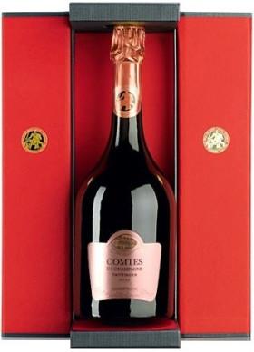 "Шампанское Taittinger, ""Comtes de Champagne"", Rose, 2006, gift box"