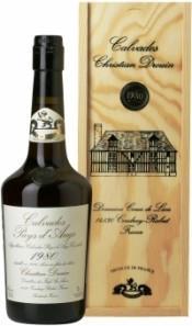 Кальвадос Coeur de Lion Calvados Pays d`Auge 1980, wooden box, 0.7 л