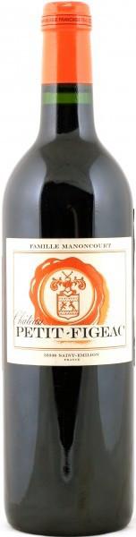 Вино Petit-Figeac Saint-Emilion Grand Cru AOC, 2007
