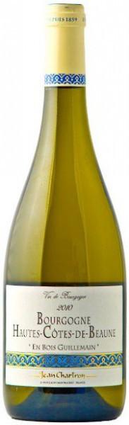 """Вино Domaine Jean Chartron, Bourgogne Hautes-Cotes-de-Beaune """"En Bois Guillemain"""" AOC, 2010"""