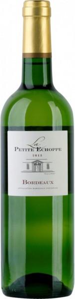 """Вино """"La Petite Echoppe"""" Blanc, Bordeaux AOC, 2013"""