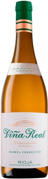 Вино Vina Real, Blanco Fermentado en Barrica, Rioja DOC, 2014