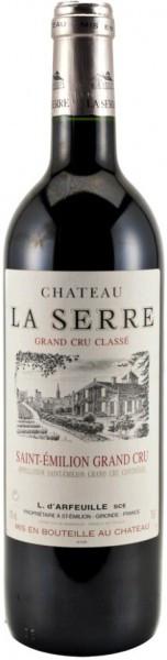 Вино Chateau La Serre, Saint Emilion Grand Cru Classe AOC, 2007