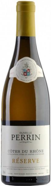 """Вино Perrin et Fils, """"Perrin Reserve"""", Cotes du Rhone AOC Blanc, 2011"""