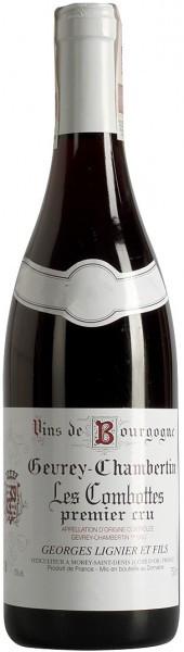"Вино Georges Lignier et Fils, Gevrey-Chambertin 1-er ""Les Combottes"", 2004"