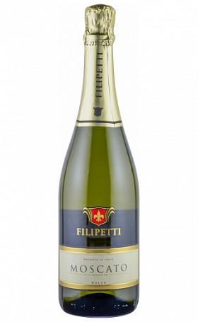 Игристое вино Filipetti Moscato Dolce 0.75л