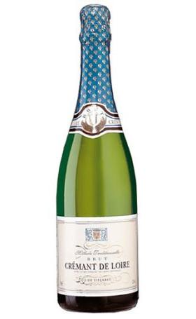 Креман J. de Villaret Cremant de Loire Brut 0.75л