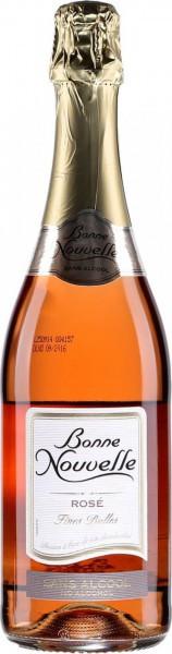 """Игристое вино """"Bonne Nouvelle"""" Rose Fines Bulles"""