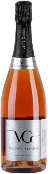 Игристое вино Vicente Gandia, Cava Brut Rose, Cava DO