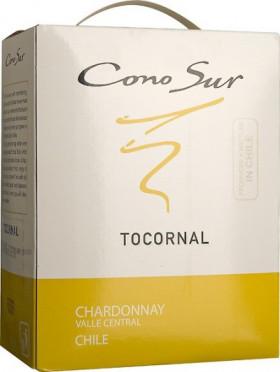 "Вино Cono Sur, ""Tocornal"" Chardonnay, Central Valley DO, 2014, 3 л"