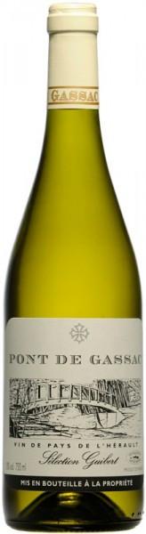 """Вино """"Pont de Gassac"""" Blanc, 2010"""