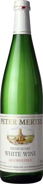 Вино Peter Mertes, Medium Dry White, Alcoholfree