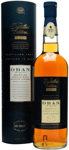 "Виски Oban 1997 ""Distiller's Edition"", in tube, 0.7 л"