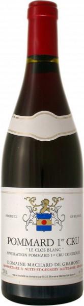 "Вино Domaine Machard de Gramont, ""Clos Blanс"" Pommard 1-er Cru, 2007"