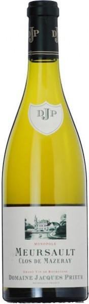 """Вино Domaine Jacques Prieur, Meursault """"Clos de Mazeray"""" Blanc, 2008, 0.375 л"""