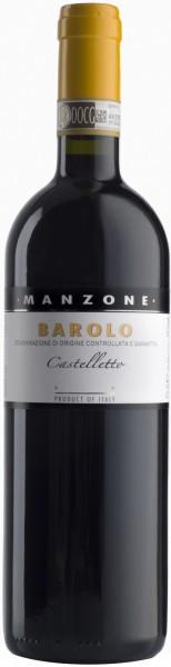 """Вино Manzone, """"Castelletto"""" Barolo DOCG, 2009"""