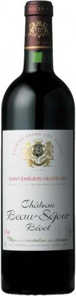 Вино Chateau Beau-Sejour Becot Saint-Emilion AOC Premier Grand Cru Classe B 1996