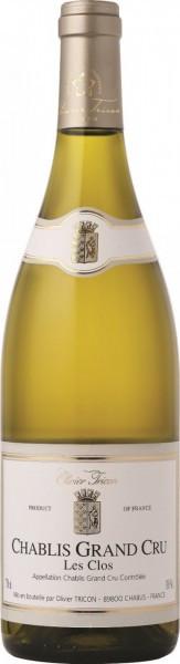 "Вино Olivier Tricon, Chablis Grand Cru ""Les Clos"" AOC, 2009"
