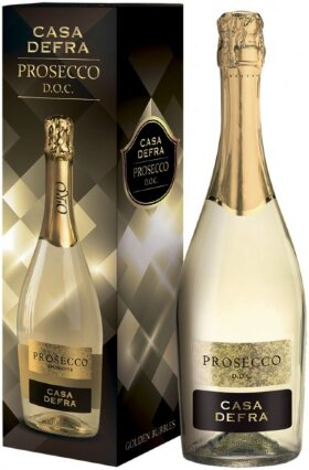 Игристое вино Casa Defra Prosecco, gift box