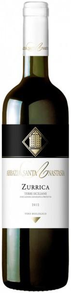 "Вино Abbazia Santa Anastasia, ""Zurrica"", Sicilia IGP, 2012"