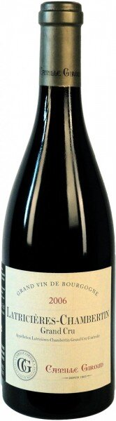 Вино Camille Giroud, Latricieres-Chambertin Grand Cru AOC, 2006