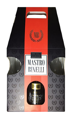 Игристое вино Mastro Binelli Brut with two glaces 0.75л