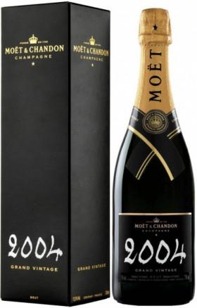 Шампанское Moet & Chandon, Brut Vintage 2004, gift box