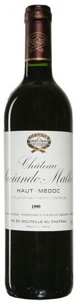 Вино Chateau Sociando-Mallet Haut-Medoc AOC, 1999