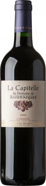 """Вино Domaine de Baron'Arques, """"La Capitelle"""", Limoux AOC, 2009"""