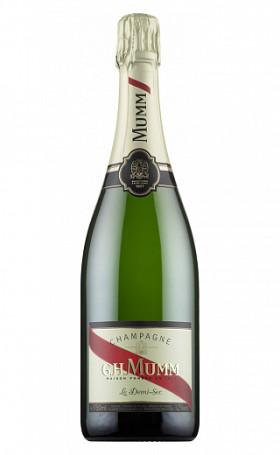 Шампанское Mumm Cordon Rouge Demi Sec 0.75л