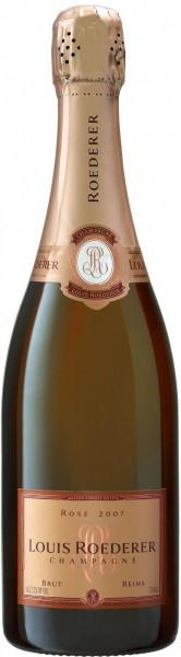 Шампанское Brut Rose AOC 2007