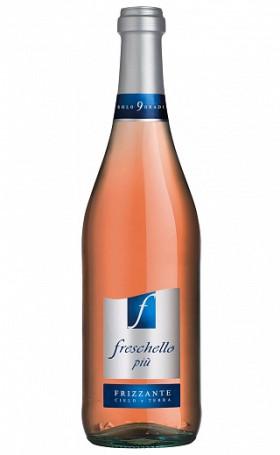 Игристое вино Freschello Piu Rosato gift box 0.75л