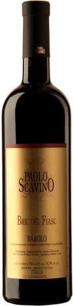 """Вино Paolo Scavino, """"Bric del Fiasc"""", Barolo DOCG, 2003"""