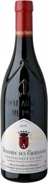 Вино Domaine des Chanssaud, Chateauneuf-du-Pape AOC, 2010