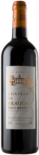 Вино Chateau de Braude Cru Bourgeois, Haut-Medoc AOC, 2011
