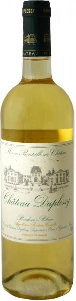 Вино Chateau Duplessy, Bordeaux Blanc, Bordeaux AOC, 2014