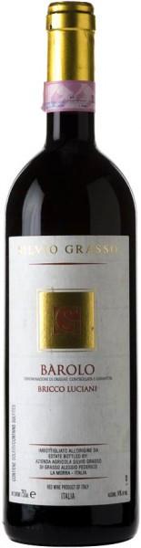 """Вино Silvio Grasso, """"Bricco Luciani"""", Barolo DOCG, 2006"""