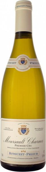 "Вино Domaine Bitouzet-Prieur, Meursault 1-er Cru ""Les Charmes"", 2014"