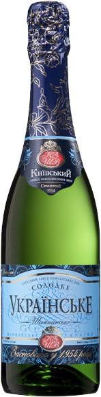 "Игристое вино ""Ukrains'ke"" sweet"