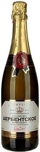 "Игристое вино DZIV, ""Derbent"" Rossiyskoe Champagne, Semi-Sweet"