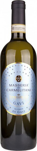 "Вино ""Masseria dei Carmelitani"", Gavi di Gavi DOCG, 2016"