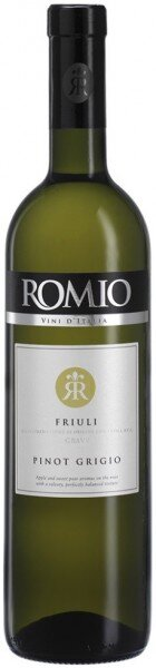 """Вино """"Romio"""" Pinot Grigio, Friuli Grave DOC, 2016"""