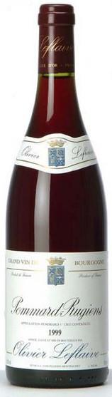Вино Pommard-Rugiens, 1er Cru AOC 1999