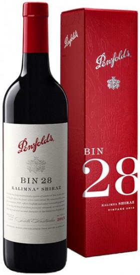 """Вино Penfolds, """"Bin 28"""" Kalimna Shiraz, 2013, gift box"""