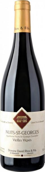 """Вино Domaine Daniel Rion & Fils, Nuits-Saint-Georges """"Vieilles Vignes"""" AOC, 2014"""