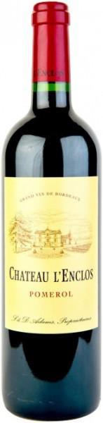 Вино Chateau l'Enclos, Pomerol AOC, 2007