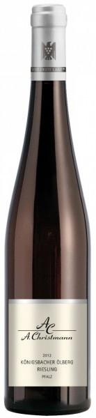 "Вино A. Christmann, Konigsbacher ""Olberg"" Riesling trocken, 2012"