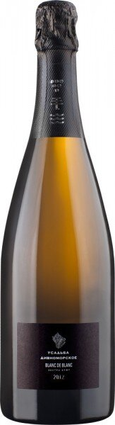 """Игристое вино """"Usadba Divnomorskoe"""" Blanc de Blanc Extra Brut, 2012"""