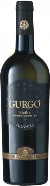 """Вино Cantine Paolini, """"Gurgo"""" Viognier, Sicilia IGT, 2015"""
